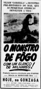 Anúncio publicado originalmente me 17 de abril de 1962 no jornal A Tribuna