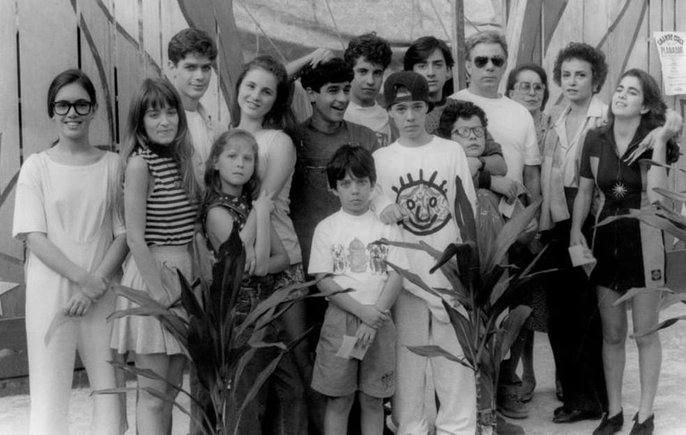 As famílias de Jonas e Carmem: núcleo jovem foi um dos trunfos da trama