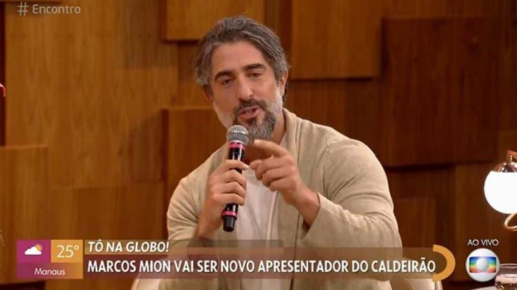Marcos Mion no Encontro
